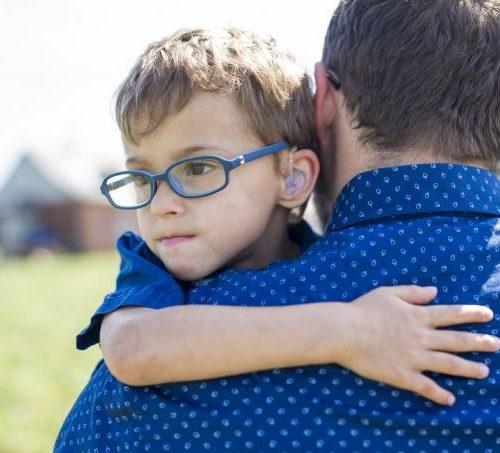 Cómo afrontar la discapacidad de un hijo